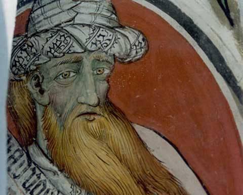 Restauro affreschi e tele – affresco XI-XII sec.
