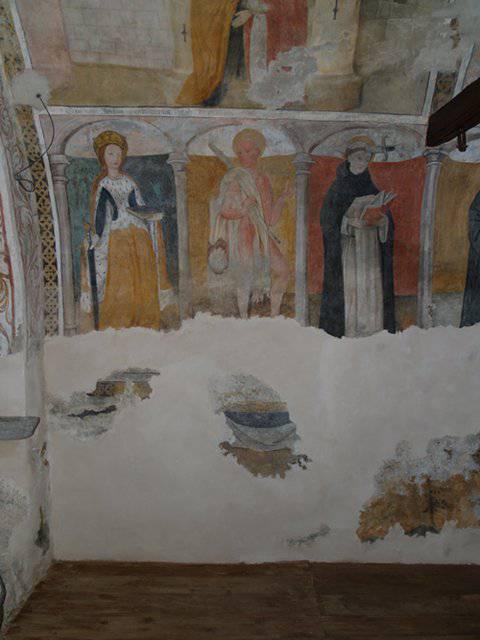 Restauro affreschi e tele, grandi restauri, restauro beni culturali a Foresto (TO) – Cappella Santa Maria delle Grazie