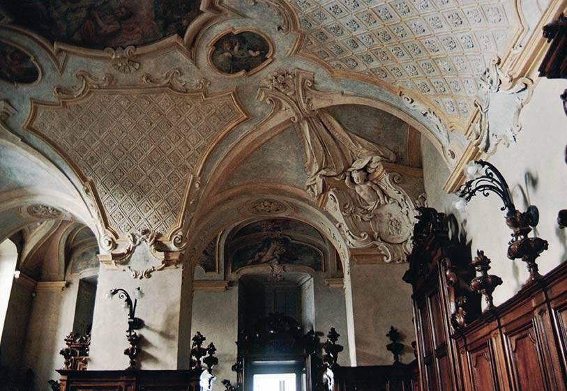 Restauro affreschi sacrestie Santuario della Consolata (TO)