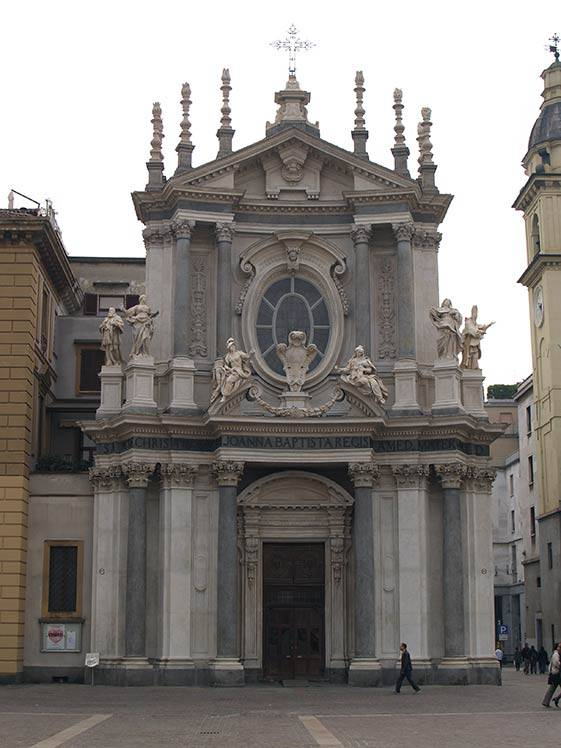 Restauro lapideo – Torino Chiesa di Santa Cristina