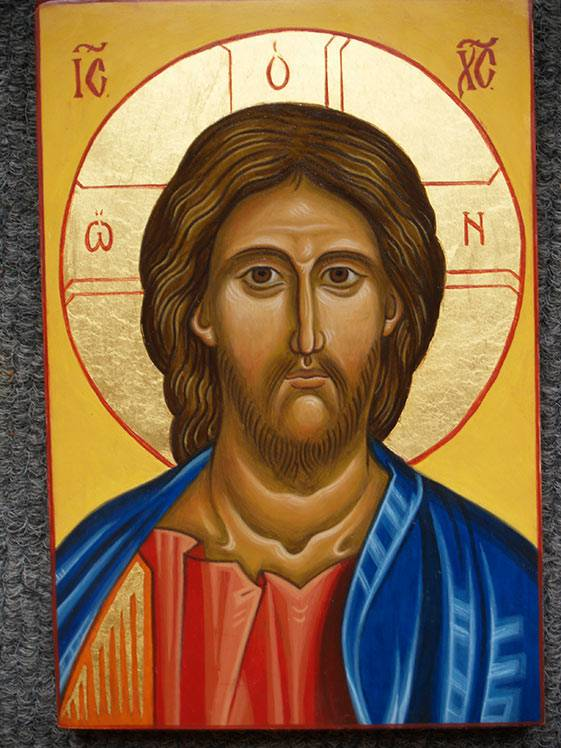 Quadretti da parete, arredamento creativo, icona dipinta a mano