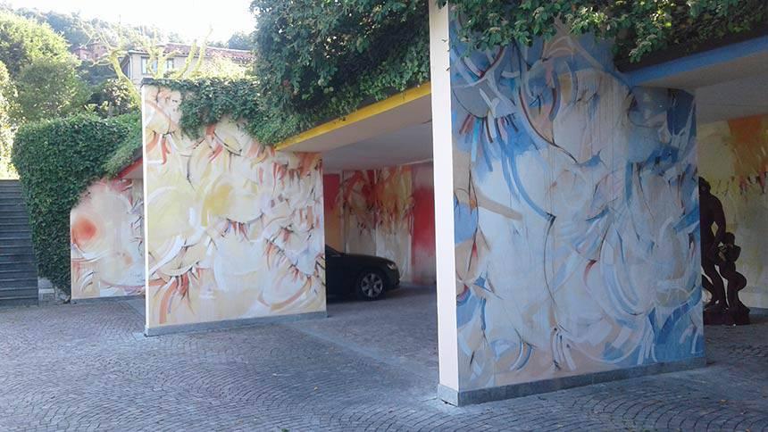 Restauro opere contemporanee a Torino