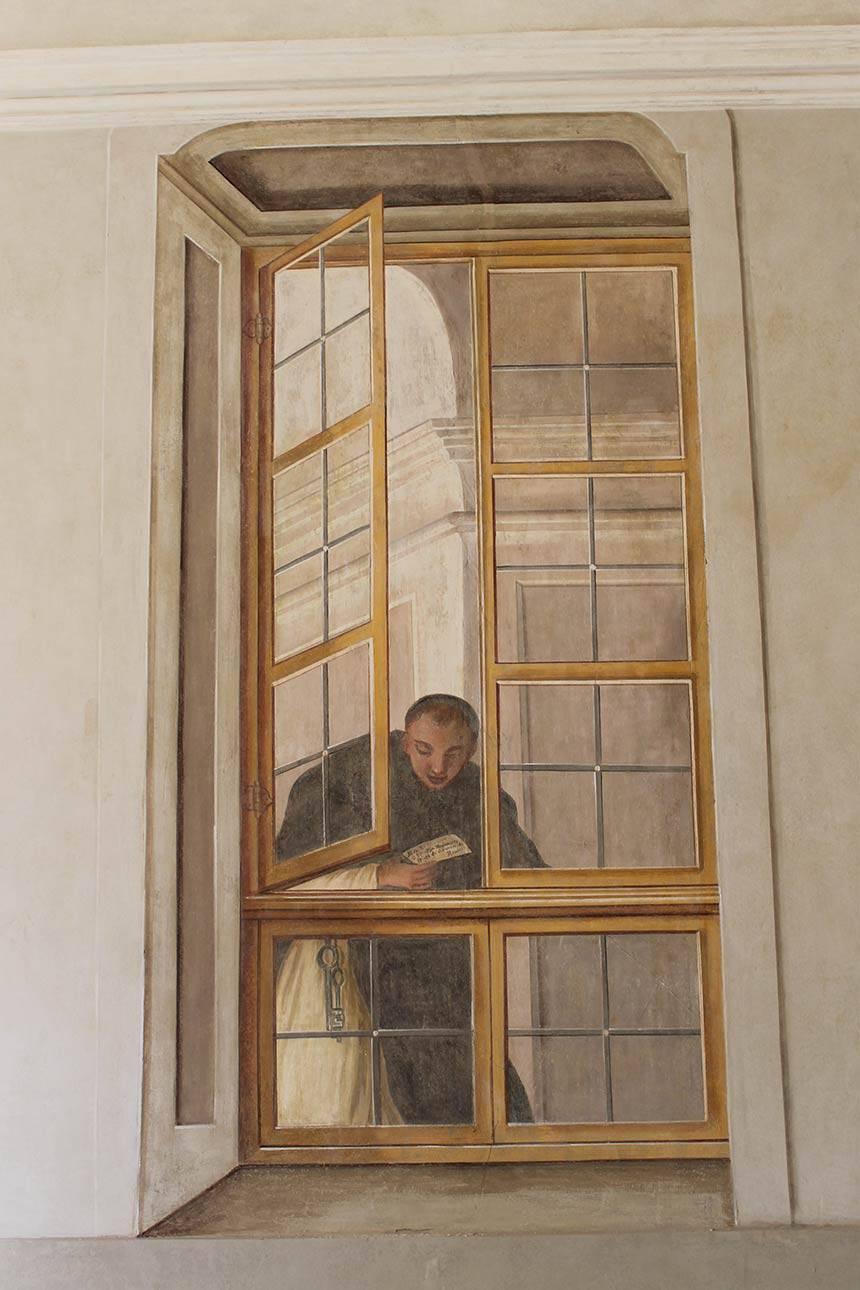 Restauro affreschi a Rivoli (TO) Villa Botteri