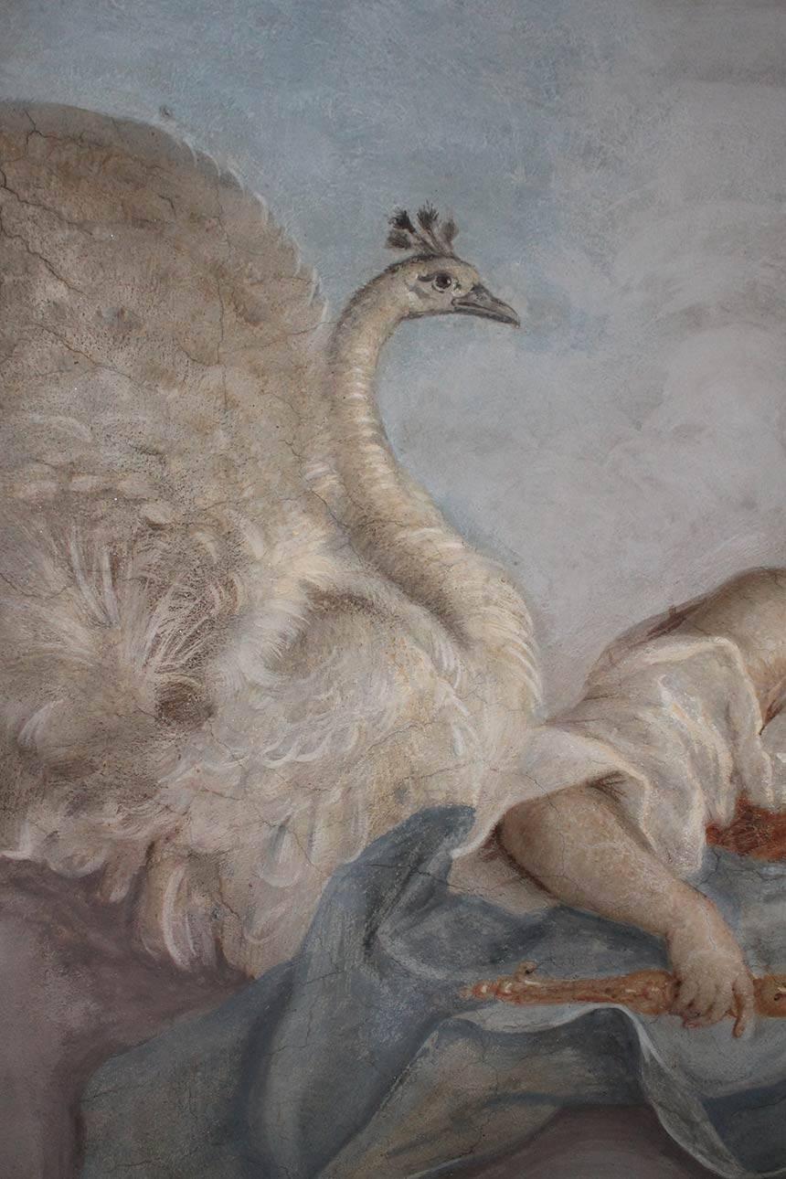 Restauro affreschi a Torino, abitazione privata