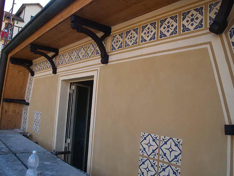 Grandi restauri, restauro beni culturali – esterno facciata a stampino