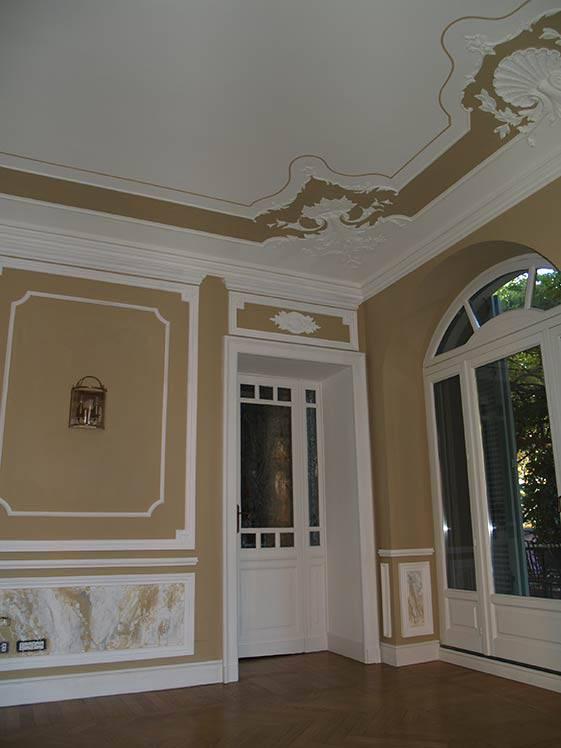 Pareti artistiche, pareti creative in abitazione privata a Torino