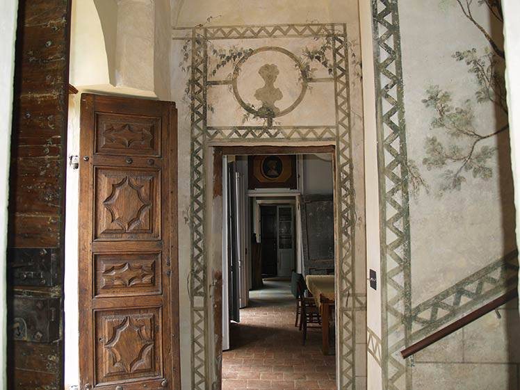 Restauro affreschi a Torino in abitazione privata