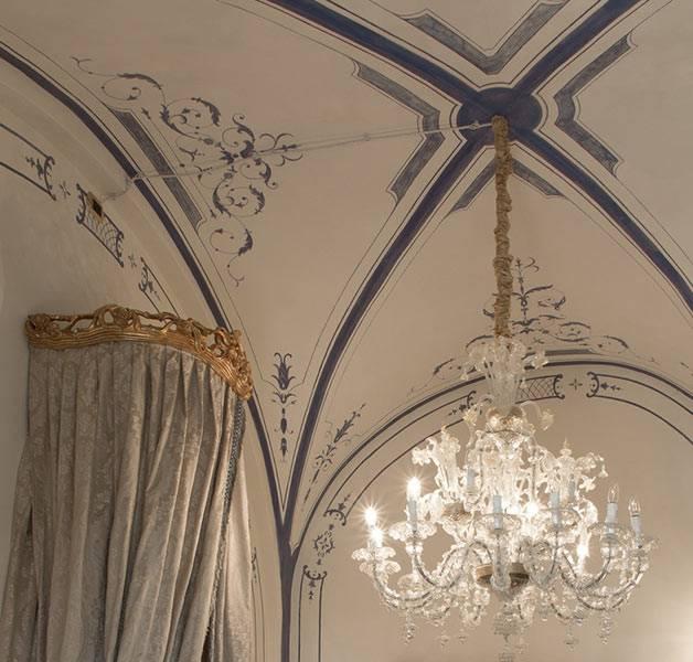 Pareti artistiche – soffitto monocromo