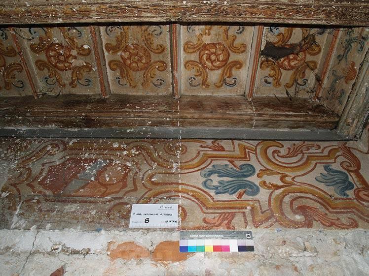 Restauro affreschi Piazza della Repubblica, Torino