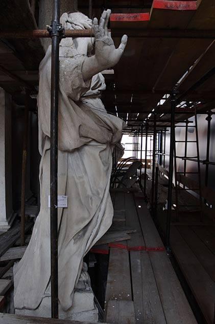 Restauro lapideo nella Chiesa di Santa Cristina (TO)