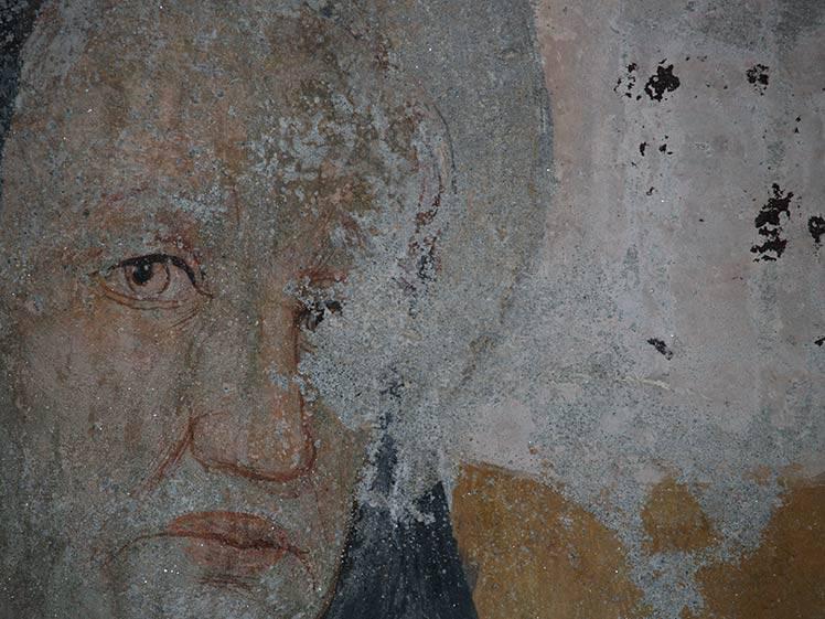 Restauro affreschi Nostra Signora delle Grazie XV sec. a Susa (TO) fraz. Polveriera