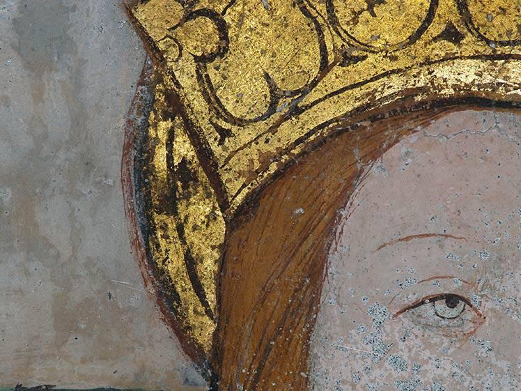Restauro affreschi Susa (TO) fraz. Polveriera N.S.delle Grazie  XV sec.