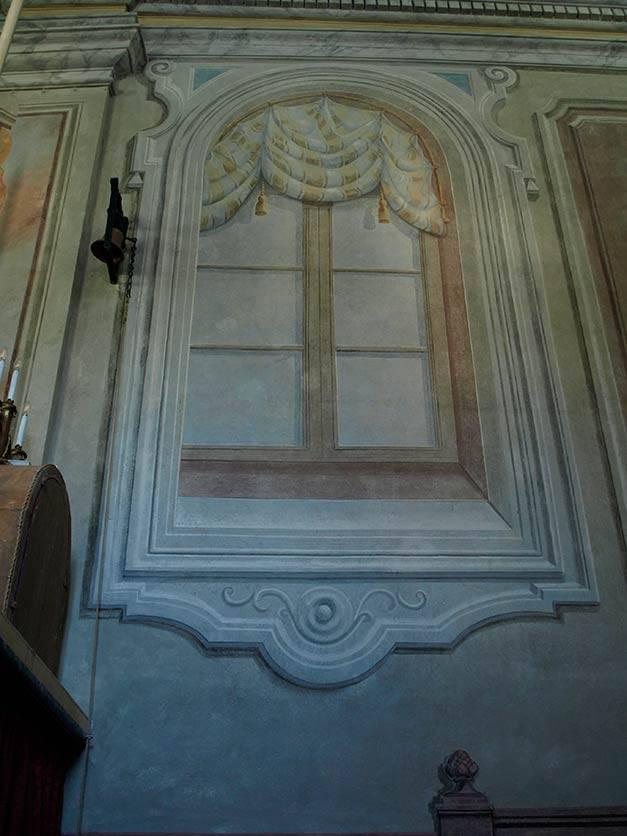 Restauro affreschi nella Chiesa San Bernardo, Carmagnola (TO)