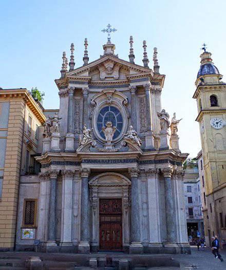 Grandi restauri chiesa Santa Cristina a Torino