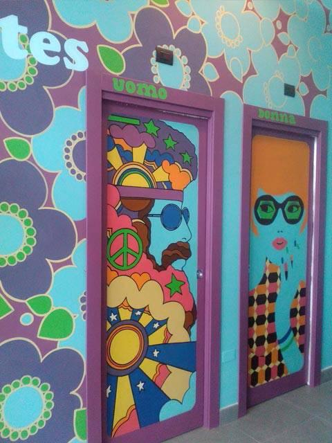 Realizzazione pareti artistiche baladin